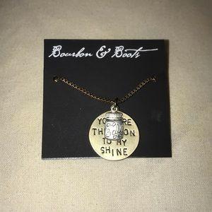 Bourbon & Boots Moonshine necklace